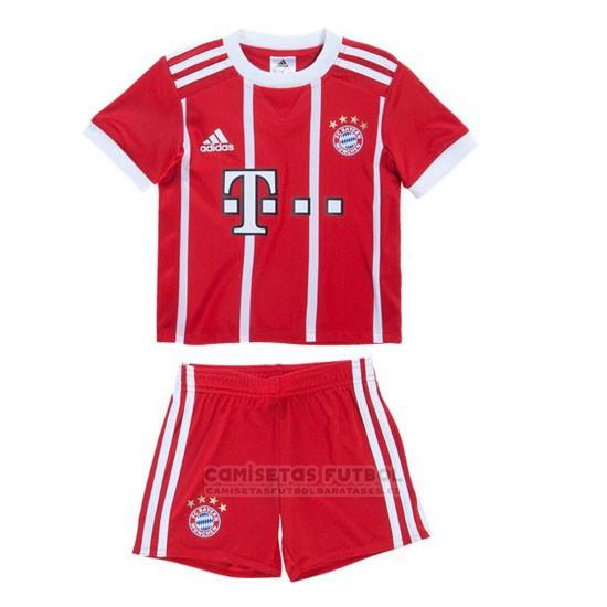 32cde19483b5a Replica Bayern Munich Primera Nino Barata 2017-2018 barata - tienda ...