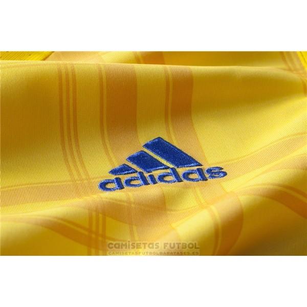 7259f83b281f9 Replica Ucrania Primera Barata 2016 barata - tienda camisetas futbol ...