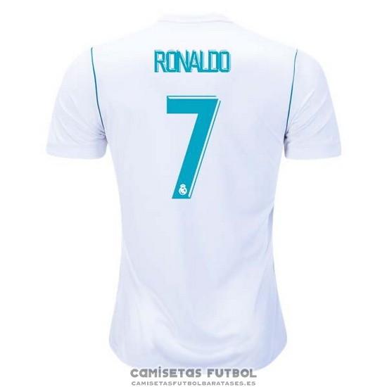 6ae146c2edf27 Replica Real Madrid Primera Jugador Ronaldo Barata 2017-2018 barata ...